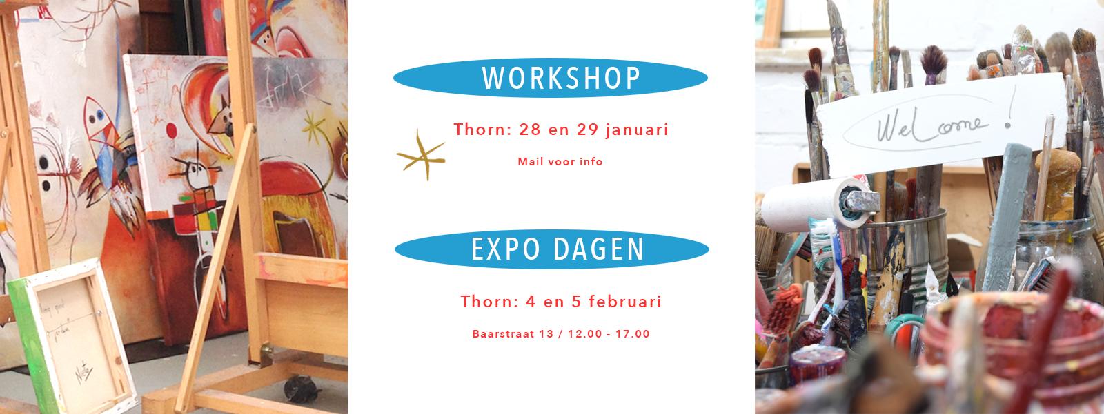Expo - workshops Angeles Nieto