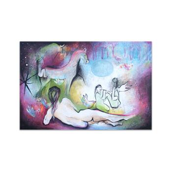 un-bosque-de-historias Painting by Angeles Nieto