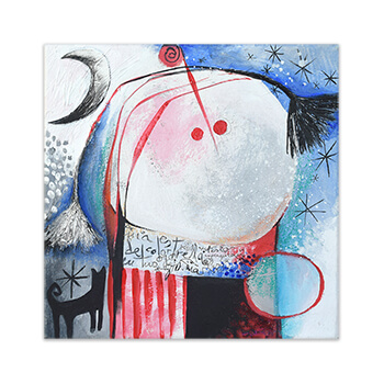 Painting Feeling Good Art Collection by Angeles Nieto