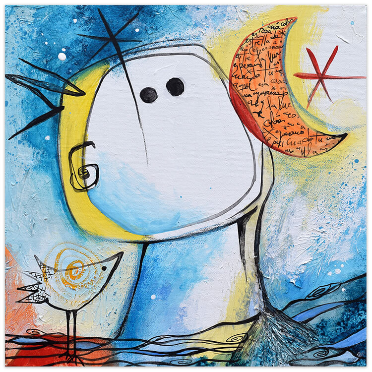 Feeling Good Art Collection by Angeles Nieto