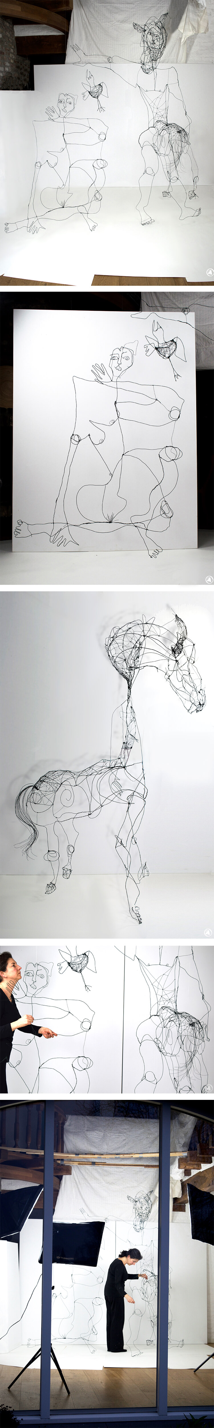 Ángeles Nieto - Picasso - Wire Construction