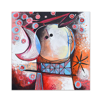 Unique original painting by Angeles Nieto Feeling Good Art Collection