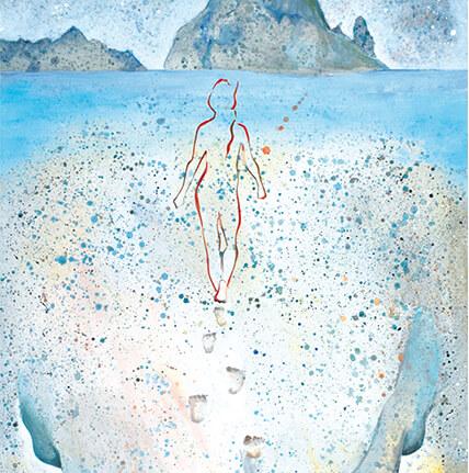 Painting schilderij art kunst Angeles Nieto