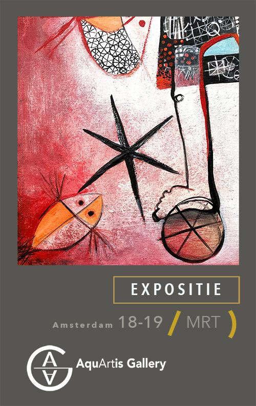 Expositie Ángeles Nieto Amsterdam