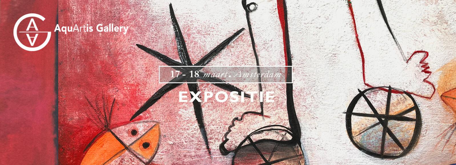 Exposition Ángeles Nieto Amsterdam March 2018