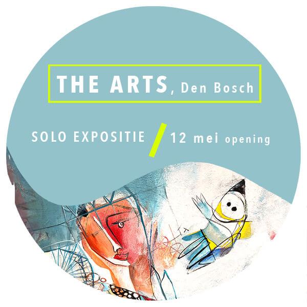 Expositie The Arts Den Bosch Angeles Nieto