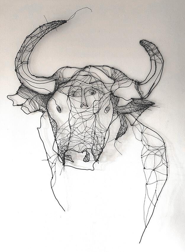 Minotauro, Art by Angeles Nieto