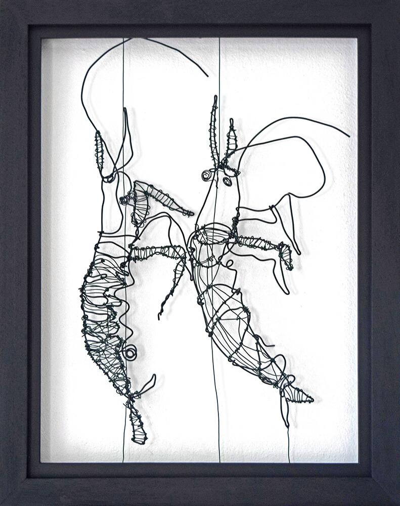 Wire art - draad kunst - Angeles Nieto