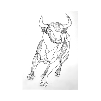 latido del toro - The heartbeat of the bull - De hartslag van de stier - by Angeles Nieto