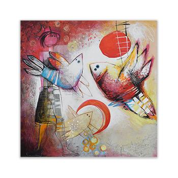 Original painting by Angeles Nieto